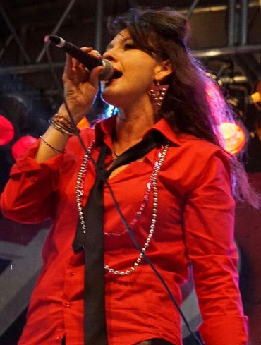 Susie Q of ThunderPants @ Mardi Gras Galveston 2016